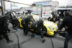 Pistopp David Coulthard, Muecke Motorsport, AMG Mercedes C-Klasse