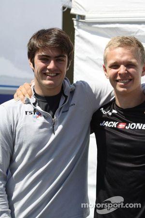 Jack Harvey and Kevin Magnussen