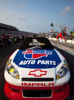 El Chevrolet ganador de la pole de Mark Martin, Hendrick Motorsports