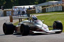 Eddie Cheever's Arrows A10 f1 car