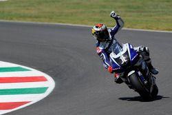 Race winnaar Jorge Lorenzo