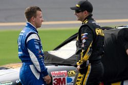 A.J. Allmendinger, Richard Petty Motorsports Ford and Marcos Ambrose, Petty Motorsport Ford