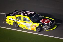 Clint Bowyer, Kevin Harvick Inc. Chevrolet on pitlane with damage