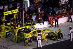 Pit stop for Reed Sorenson, Turner Motorsport Chevrolet