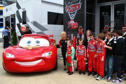 La partnership del Virgin F1 Team partnership con Disney per promuovere il film Car 2