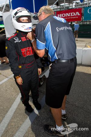 IndyCar two-seater experience: gast