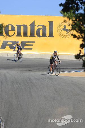 Fietsen op Mazda Raceway Laguna Seca