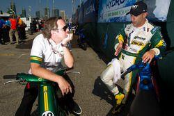 Jimmy Vasser en Tony Kanaan, KV Racing Technology-Lotus