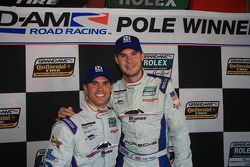 GT pole winners Andrew Davis and Leh Keen
