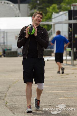 J.R. Hildebrand, Panther Racing speelt voetbal