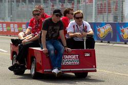 Circuit inspectie Scott Dixon, Target Chip Ganassi Racing