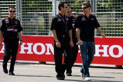 Circuit inspectie Helio Castroneves, Team Penske en Will Power, Team Penske
