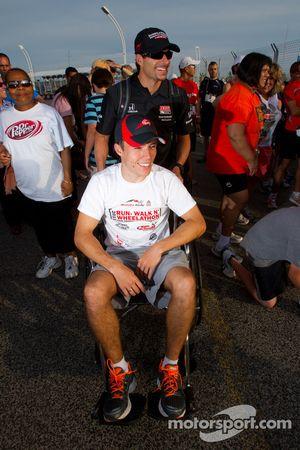 Sam Schmidt Paralysis Foundation Run, Walk'n Wheelathon: Alex Tagliani, Sam Schmidt Motorsports