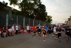 Sam Schmidt Paralysis Foundation Run, Walk'n Wheelathon