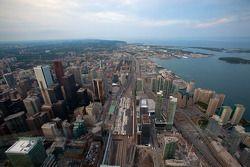Toronto vanuit de CN Tower Sky Pod