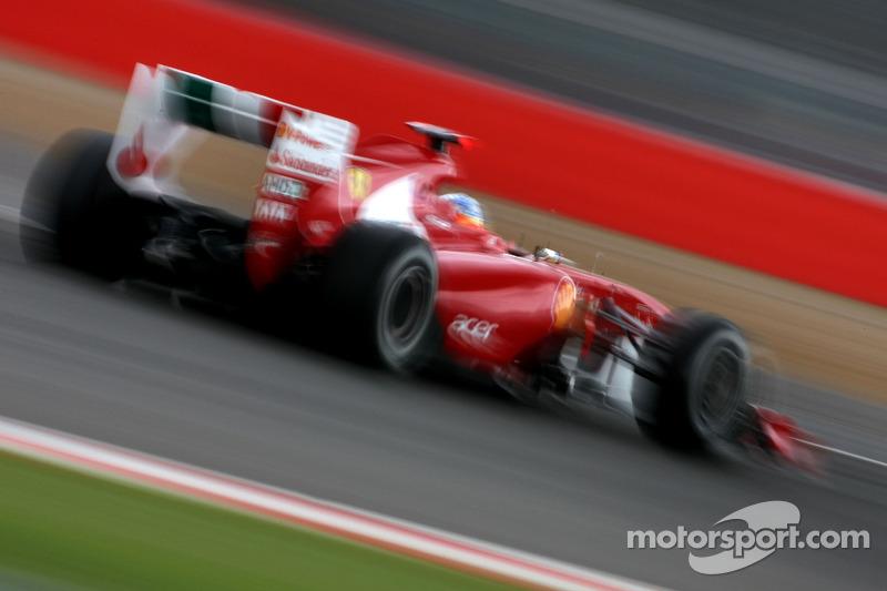 Гран При Велкиобритании-2011: победа к юбилею Ferrari