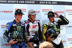 Westby, Herrin, Eslick on the podium
