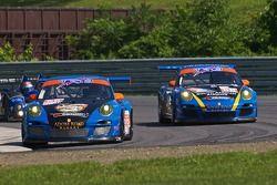 #66 TRG Porsche 911 GT3 Cup: Duncan Ende, Spencer Pumpelly, #68 TRG Porsche 911 GT3 Cup: Dion von Mo