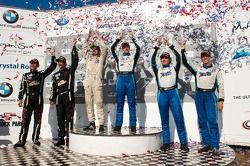 #68 TRG Porsche 911 GT3 Cup: Dion von Moltke, Mike Pierce, #66 TRG Porsche 911 GT3 Cup: Duncan Ende,