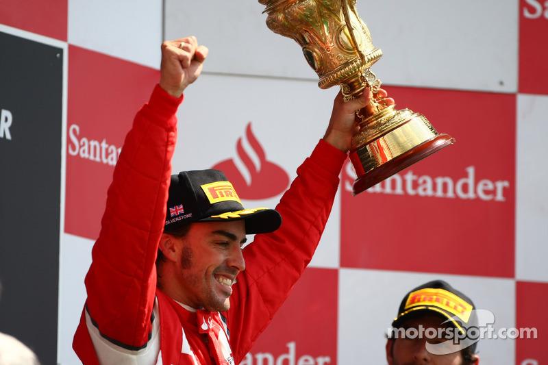 69- Fernando Alonso, 1º en el GP de Gran Bretaña 2011 con Ferrari