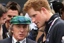 Sir Jackie Stewart and Prince Harry