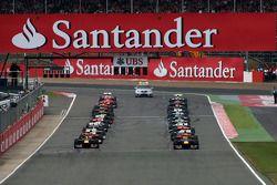 Start of the race, Mark Webber, Red Bull Racing