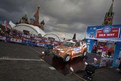 Alexandr Mironenko en Sergey Lebedev, Monster Energy X-Raid Team