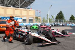 Will Power, Team Penske crash