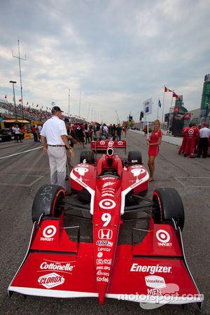 Wagen Scott Dixon, Target Chip Ganassi Racing startgrid