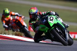 #10 Cycle World Attack Performance, Kawasaki ZX-10: JD Beach #11 KTM/HMC Racing, KTM RC8R: Chris Fillmore