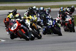 #40 Team Latus Motors Racing, Ducati 848: Jason DiSalvo #69 Richie Morris Racing, Suzuki GSX-R600: Danny Eslick #8 Monster Energy Graves Yamaha, Yamaha YZF-R6: Josh Herrin