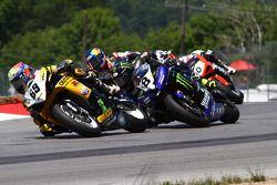 #69 Richie Morris Racing, Suzuki GSX-R600: Danny Eslick #8 Monster Energy Graves Yamaha, Yamaha YZF-R6: Josh Herrin