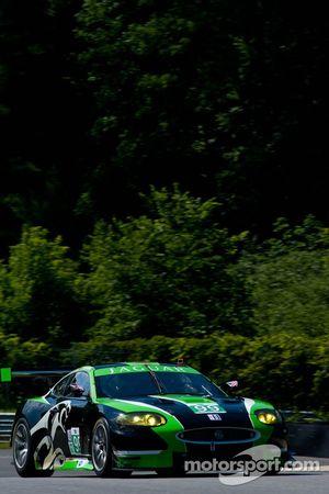 #99 JaguarRSR Jaguar XKR: Bruno Junqueira, Cristiano Da Matta