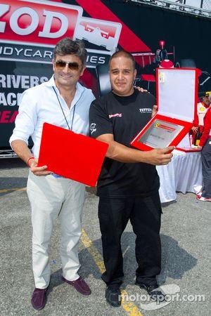 Team of the Day Award voor #8 Ferrari of Ft. Lauderdale