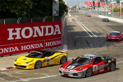 #009 Ferrari of San Francisco Ferrari 458 Challenge: Kevin Marshall, #91 Ferrari of Ft. Lauderdale F