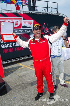 Man van de wedstrijd #64 Algar Ferrari Ferrari F430 Challenge: Frank Fusillo
