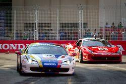 #22 Ferrari of Ft. Lauderdale Ferrari 458 Challenge: Enzo Potolicchio, #007 Ferrari of Ontario Ferra