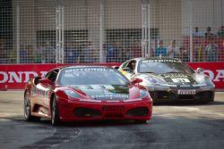 #3 Ferrari of Ft. Lauderdale Ferrari F430 Challenge: Francesco Piovanetti, #31 Ferrari of Ontario Fe