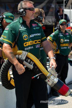 KV Racing Technology-Lotus refueler