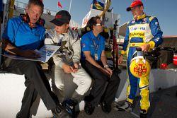Duarte Ferreira, Bryan Herta Autosport en Bruno Andrade, Bryan Herta Autosport met Bryan Herta