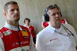 Martin Tomczyk, Audi Sport Team Phoenix Audi A4 DTM and Dirk Theimann, Teammanager Phoenix Racing