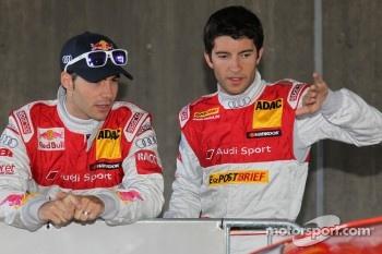Miguel Molina, Audi Sport Team Team Abt Junior, Audi A4 DTM, Mike Rockenfeller, Audi Sport Team Abt Sportsline Audi A4 DTM