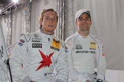 Renger van der Zande, Persson Motorsport, AMG Mercedes C-Klasse 2008; Jamie Green, HWA AG, Mercedes