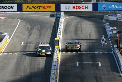 Edoardo Mortara, Audi Sport Team Rosberg, Audi A4 DTM 2008; Bruno Spengler, HWA AG, Mercedes AMG C-Klasse 2009