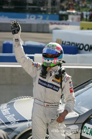 Второе место - Бруно Спенглер, Team HWA AMG Mercedes C-Klasse