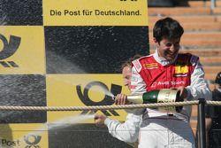 Третье место - Майк Роккенфеллер, Audi Sport Team Abt Audi A4 DTM