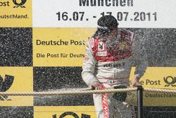 Первое место - Эдоардо Мортара, Audi Sport Team Rosberg, Audi A4 DTM