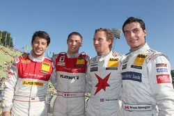 Mike Rockenfeller, Audi Sport Team Abt Sportsline, Audi A4 DTM 2009; Edoardo Mortara, Audi Sport Tea