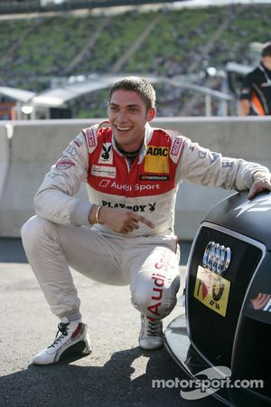 Winnaar Edoardo Mortara, Audi Sport Team Rosberg, Audi A4 DTM