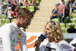 Martin Tomczyk, Audi Sport Team Phoenix Audi A4 DTM and Christina Surer